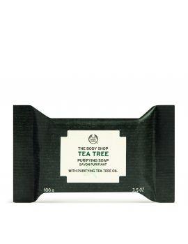 Oczyszczające mydło do twarzy i ciała Tea Tree