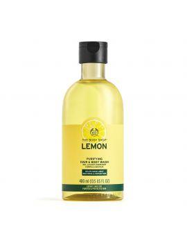 Żel do mycia włosów i ciała Oczyszająca Cytryna