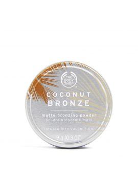 Matowy puder brązujący Coconut Bronze
