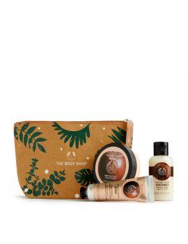 Zestaw prezentowy w kosmetyczce Shea i Kokos