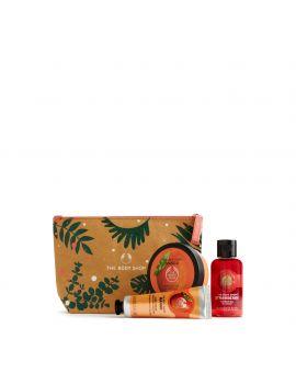 Zestaw prezentowy w kosmetyczce Mango i Truskawka 2020