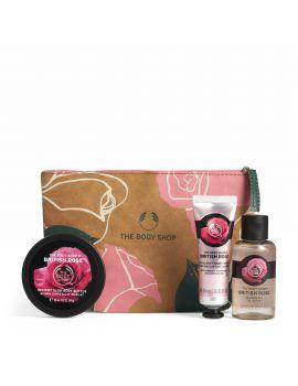 Zestaw prezentowy British Rose w kosmetyczce