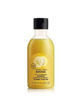 Odżywczy szampon do włosów Banan