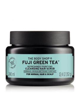 Oczyszczający scrub do włosów Fuji Green Tea™