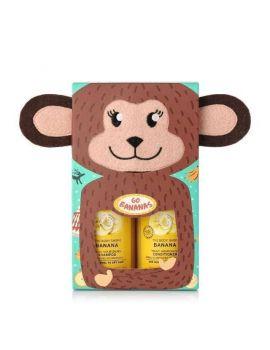 Zestaw prezentowy do pielęgnacji włosów Go Bananas