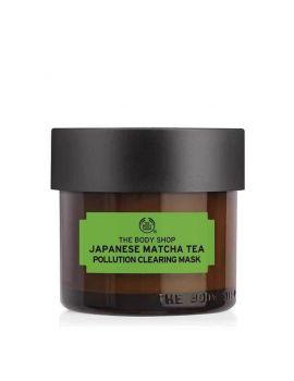 Oczyszczająca maska do twarzy z herbatą matcha