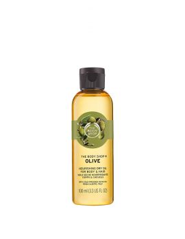 Odżywczy suchy olejek do ciała Oliwka