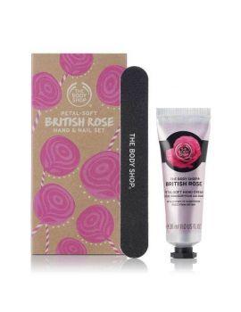 Zestaw prezentowy British Rose Mini Manicure