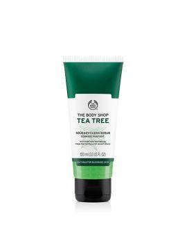 Wygładzający peeling do twarzy Tea Tree