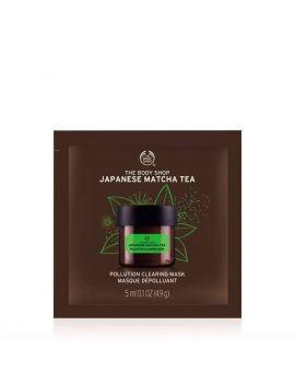 Oczyszczająca maska do twarzy z zieloną herbatą