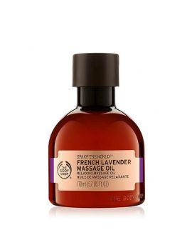 Relaksujący olejek do masażu French Lavender Spa Of The World™