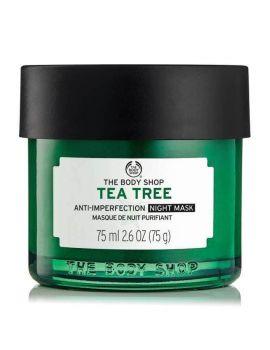 Maska przeciw niedoskonałościom na noc Tea Tree