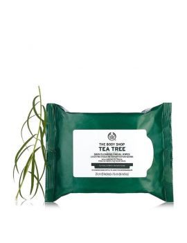 Oczyszczające chusteczki do twarzy Tea Tree