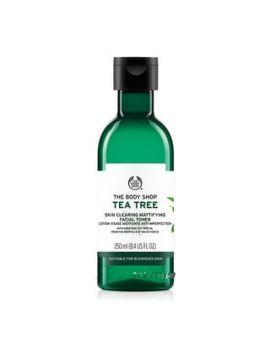 Oczyszczająco-matujący tonik do twarzy Tea Tree