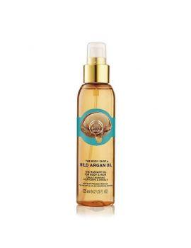 Rozświetlający olejek arganowy do ciała i włosów